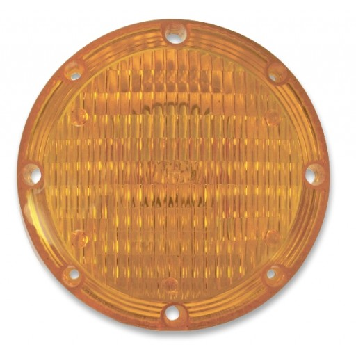 "Lens, Acrylic, 1020 Series 7"" Amber"