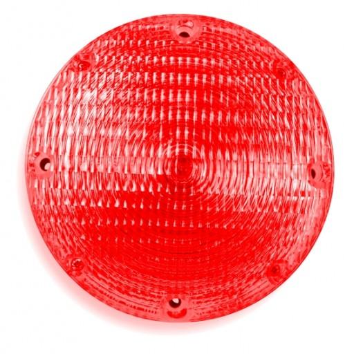 Stop & Tail, 7'' Round, Black Base, SB, DC #1157, Red