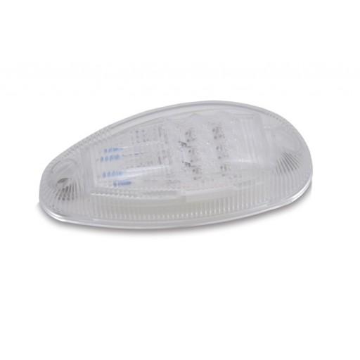 Amber LED Turn/Marker, Clear Lens