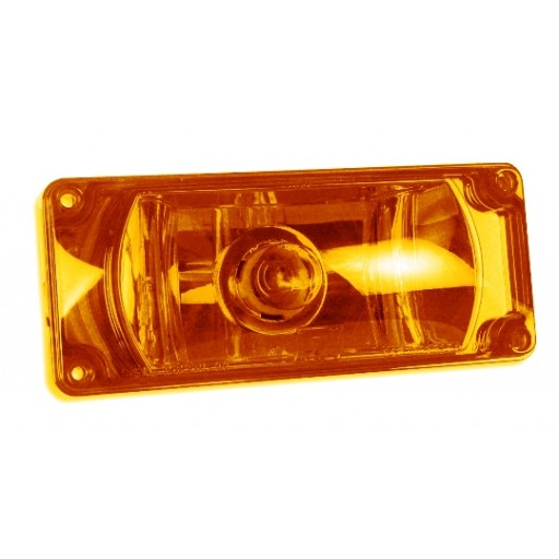 Emergency Vehicle Warning Lights, 3x7 Halogen #795X, Panel/Amber