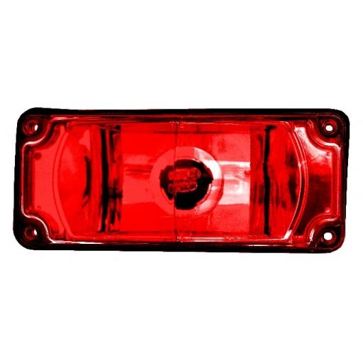 Strobe Head Assy, 3800 Series, Red