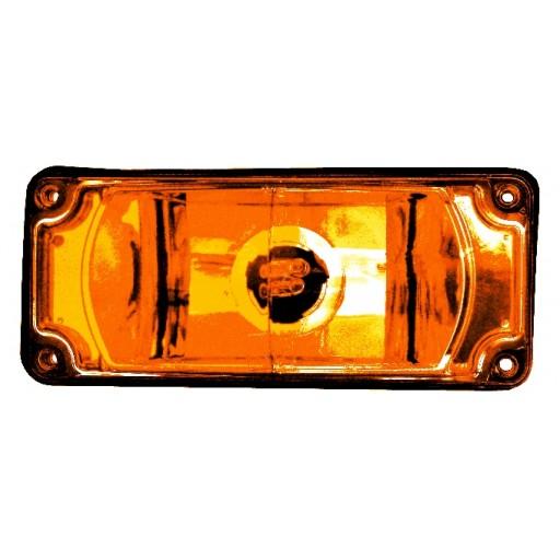 Strobe 3x7 Warning, Panel, Amber