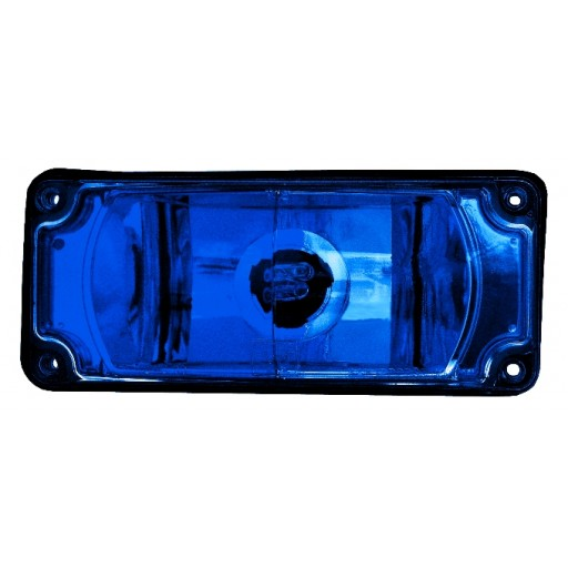 Strobe 3x7 Warning, Panel, Blue