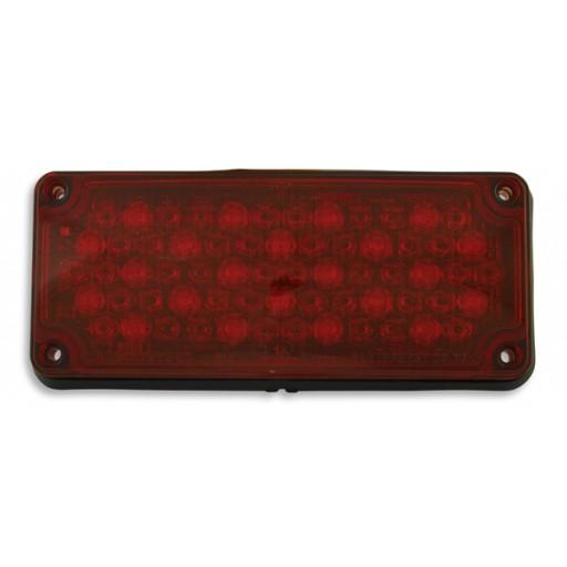 LED, 3x7 Red Warning Light, Panel