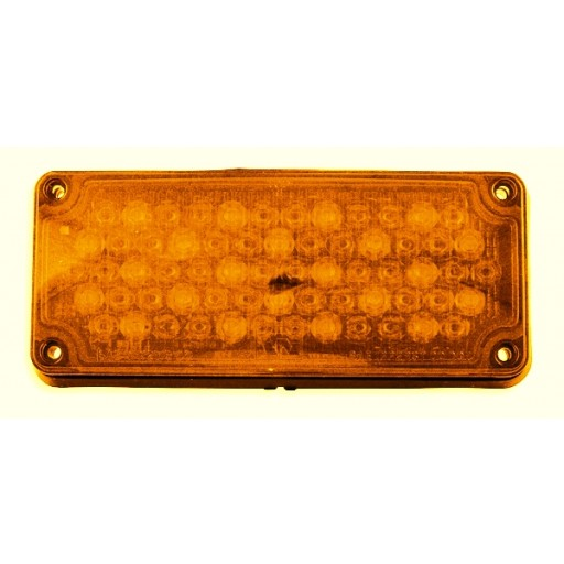 LED, 3x7 Amber Warning Light, Panel
