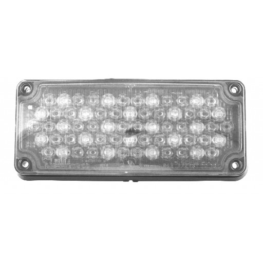 LED, 3x7 Clear Warning Light, Panel