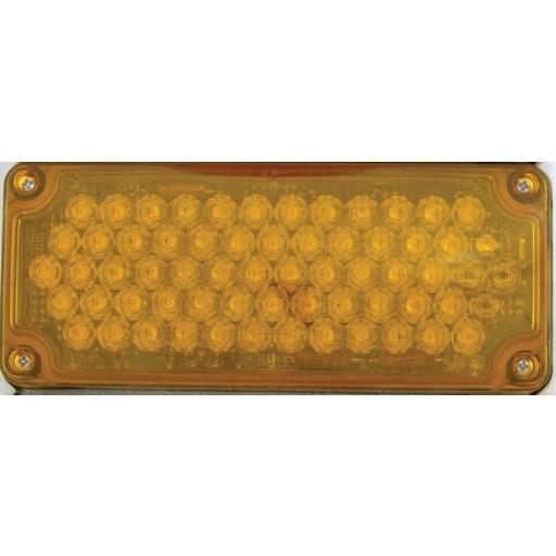 LED, 3x7 Seq Turn w/Arrow Lh, Panel, Amber