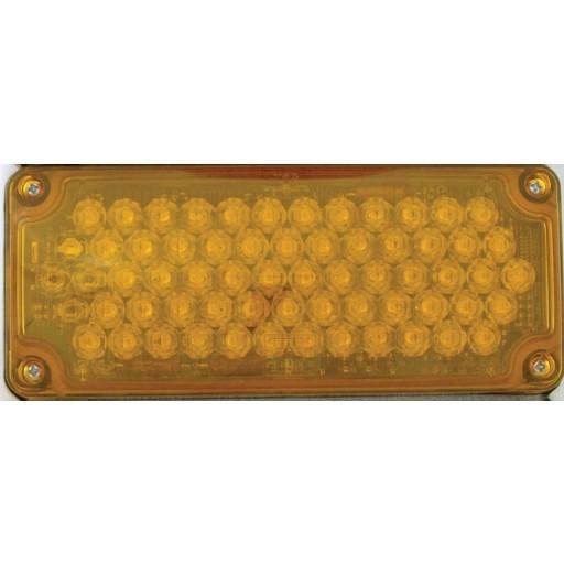LED, 3x7 Seq Turn w/Arrow Rh, Panel, Amber
