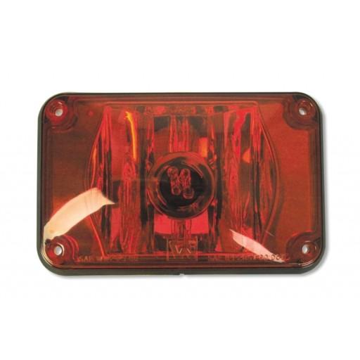 Strobe Warning, 4x6 , Panel, Red