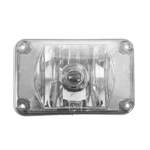 Lens Assy 4x6 Halogen SF Clear