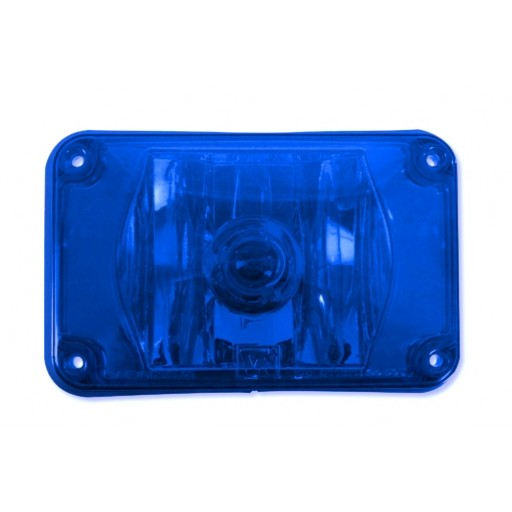 Lens Assy 4x6 Halogen Blue