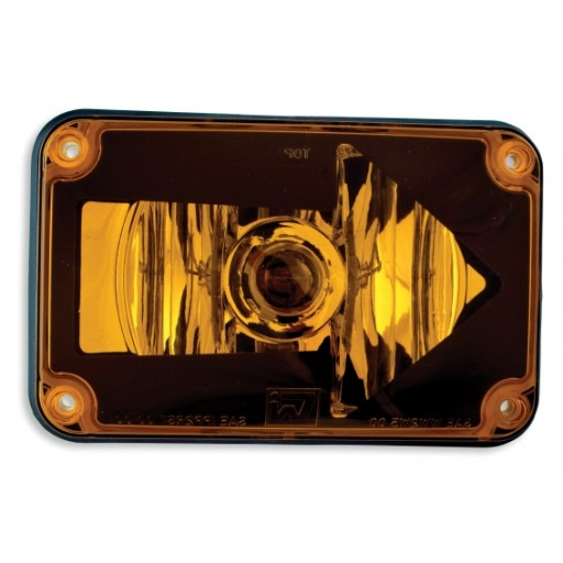 Lens Assy 4x6 Right Arrow Turn Amber