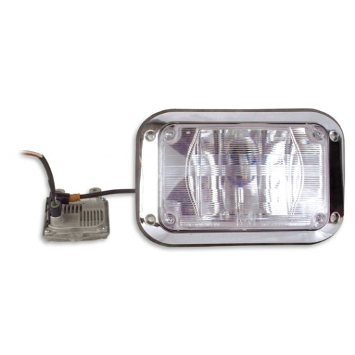 HID Scene Kit, 4x6, 2 Lamps, Clear