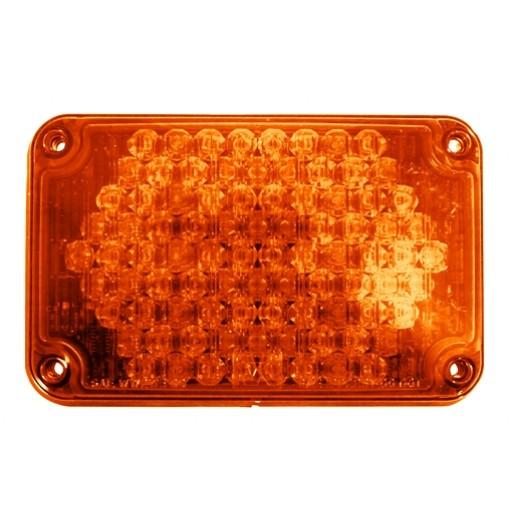 LED, 4x6 Warning, Panel, Amber