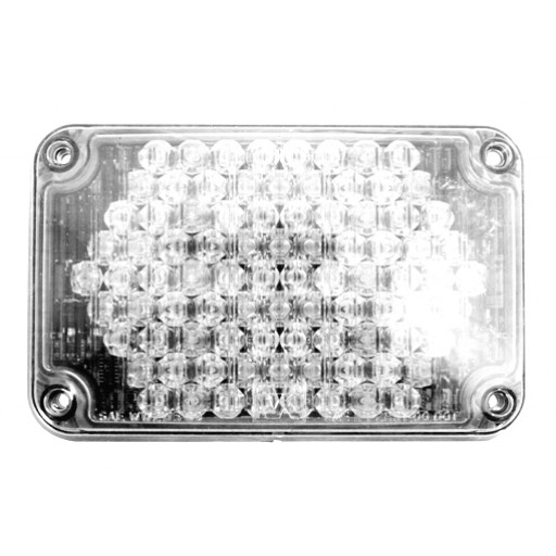 LED, 4x6 Warning, Panel, Clear