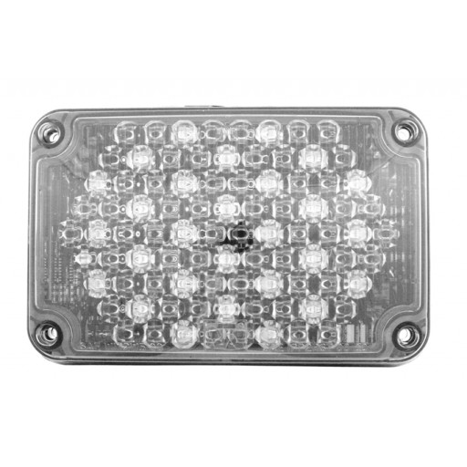 LED, 4x6 Auxilliary Backup, Panel, Clear