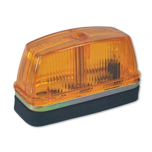 Marker Lights, 1 Wire, #168, Amber