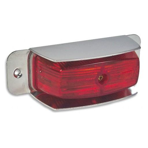 Marker w/Shield 2 bulb/1Wire Red