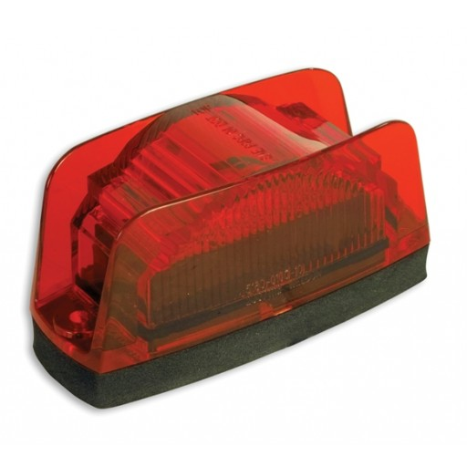 LED Marker Lamp, Econ. w/Plug, Red