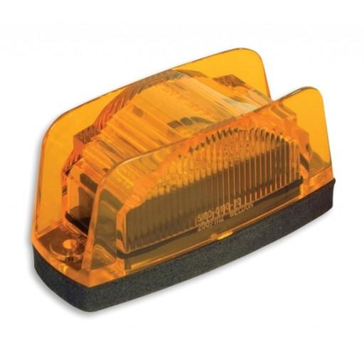 LED Marker Lamp, Econ. w/Plug, Amber