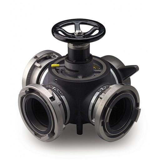 4-Way Hydrant Valve