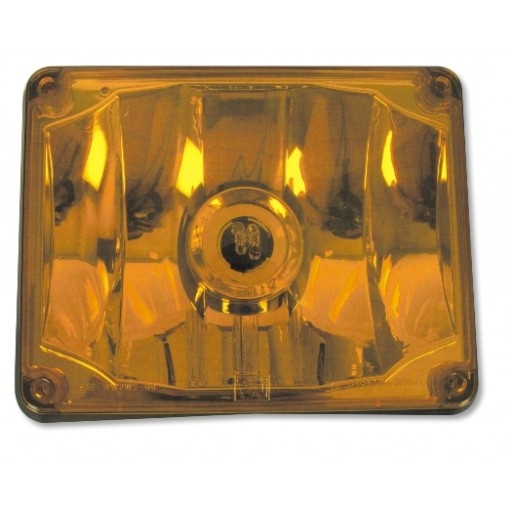 Assembly, Lens/Refl, SF-Amber, 7800 Series