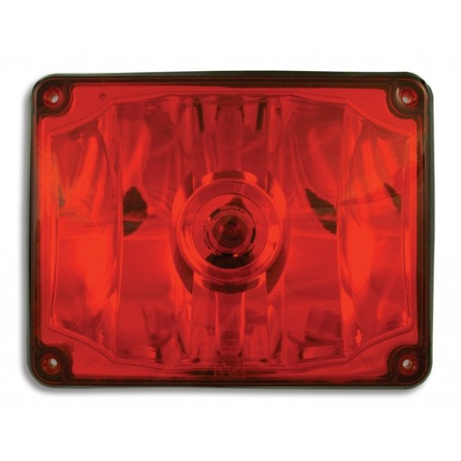 Stop or Tail, 7x9, Panel, #1156, Red