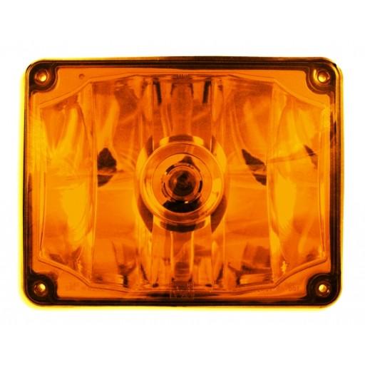 Turn, 7x9, Panel, #1156, Amber