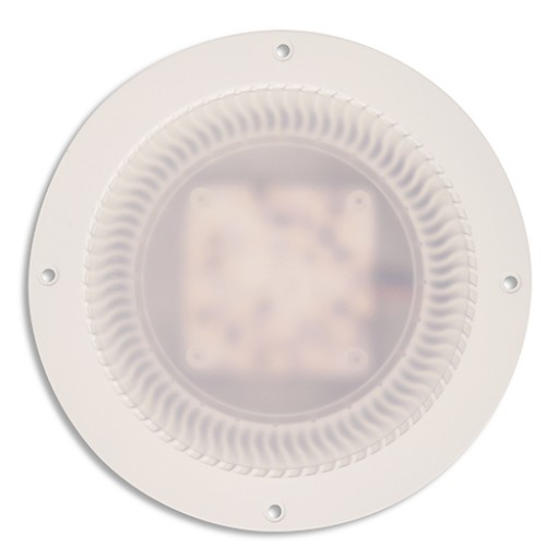 Low Profile LED Dome Lamp, Recessed Mount