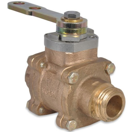 "1"" Swing-Out Valve (Body Only) with polymer ball"