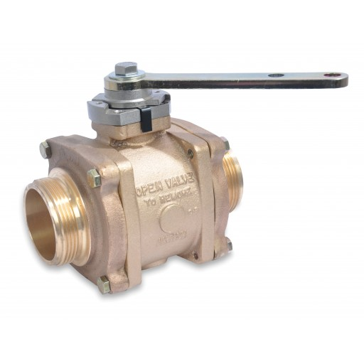 "3 1/2"" Swing-Out Valve (Body Only) with stainless ball"