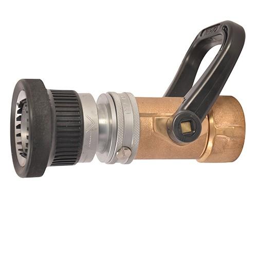... 1 1/2u0027u0027 Industrial Turbojet Brass Fire Hose Nozzle  sc 1 st  Akron Brass & 1 ½u201d Industrial Turbojet Brass Fire Hose Nozzle