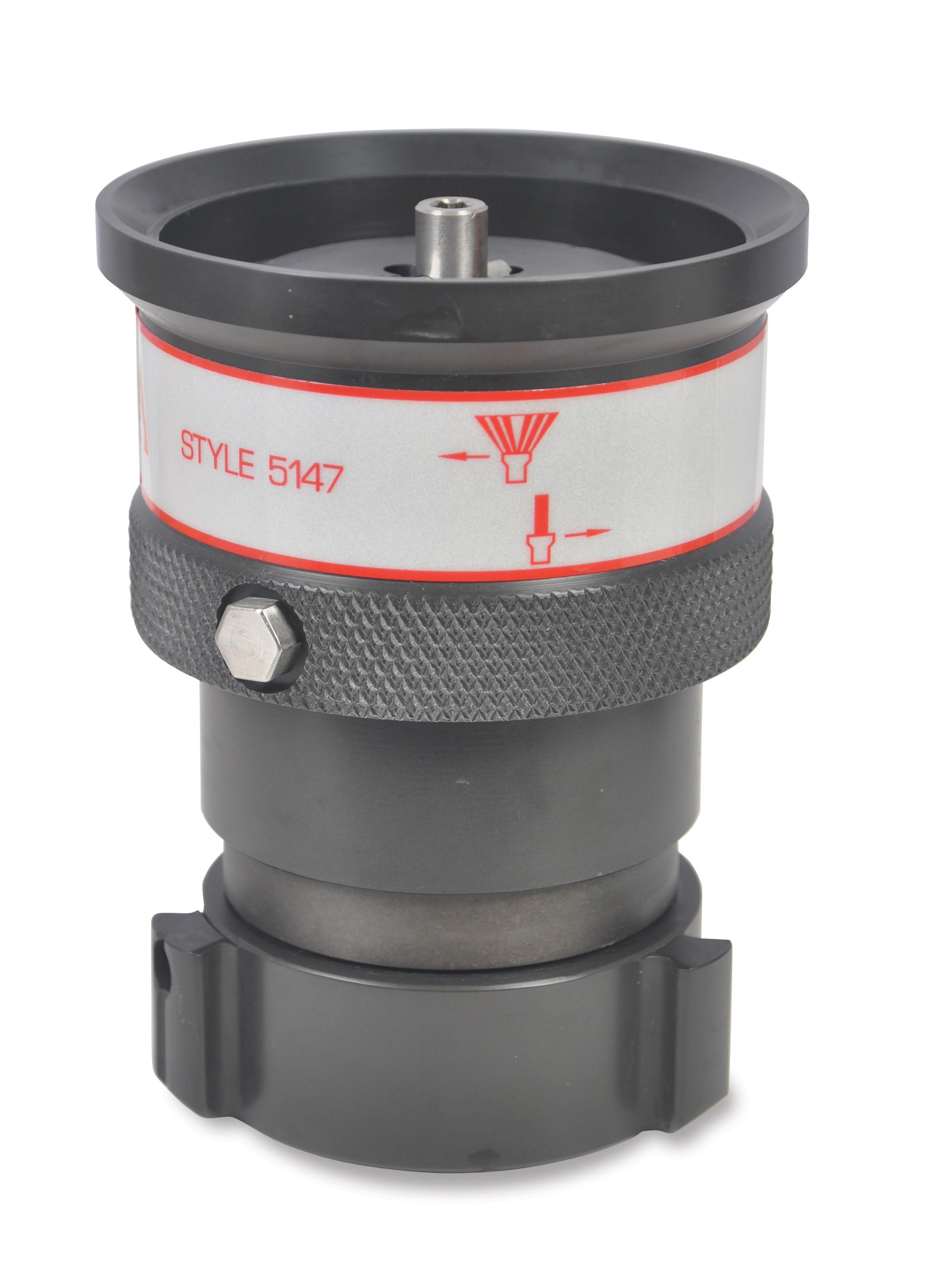 Mercurymaster adjustable flow nozzle fire nozzles