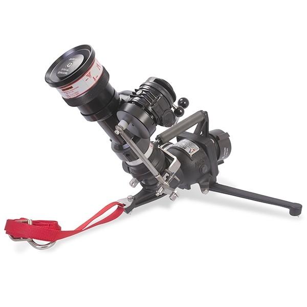 Oscillating mercurymaster adjustable flow nozzle
