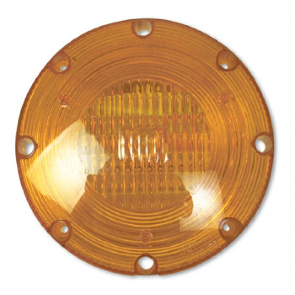 Lens/Reflector, Amber, 1080 Series Warning Lamps