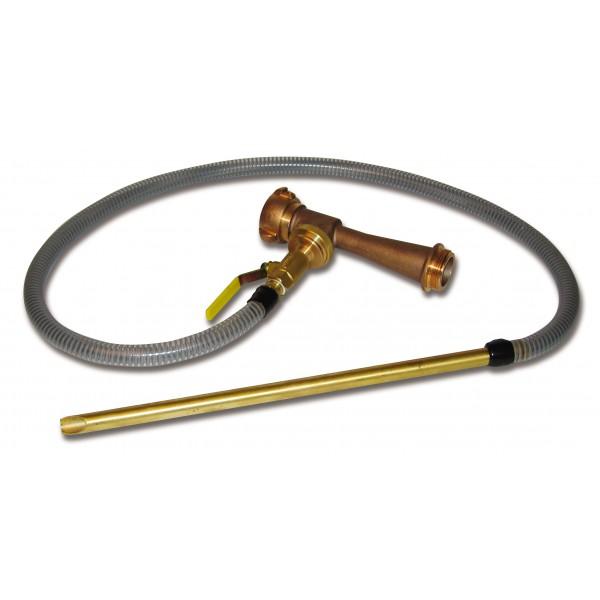 Brass In-Line Foam Eductor