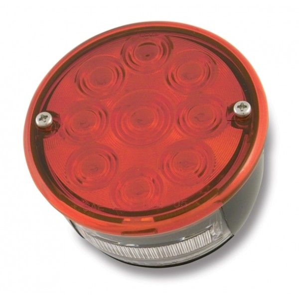 LED Stop/Tail Lamp w/License, No Studs