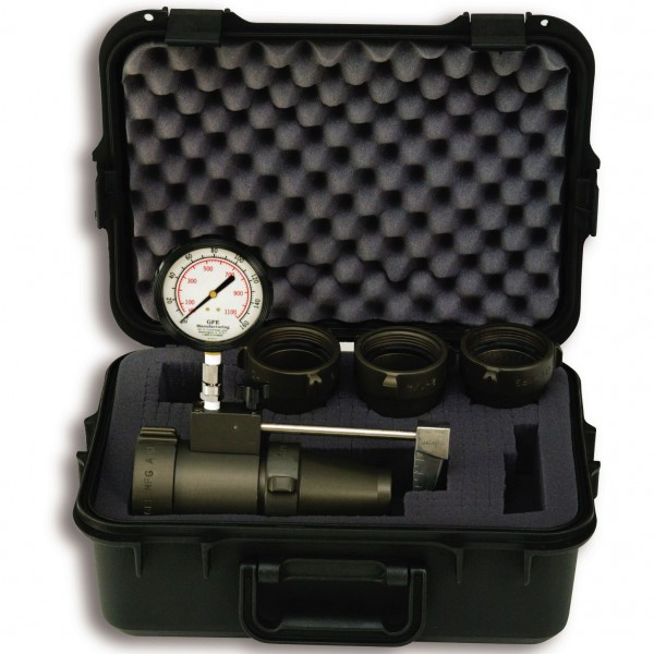 2 1/2'' (65 mm) Flow Test Kit with Case (High Flow Kit)