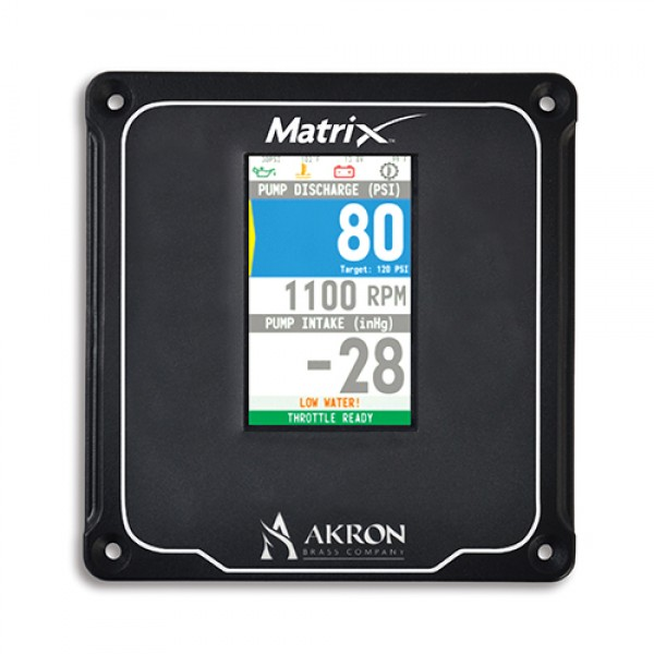 MatrixDISPLAY - Pressure Governor Panel Mount Display only