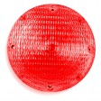 Stop & Tail, 7'' Round, Black Base, SB, Ext. Gnd #1157, Red