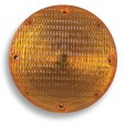 Turn & Park, 7'' Round, Black Base, SB, DC #1157, Amber