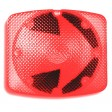 Turn w/Arrow, 7x8 Horz, Black Base, SB, #1156 Red