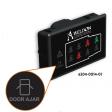 Seat Belt Indicator Ambulance with Door and Warning ICONs and Analog Dim