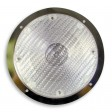 Dome - Hal, GH9 Bulb, SF, Clear, Stainless Steel, Rec. Mt.