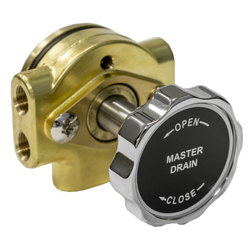 Class 1 Manual Master Drain 6 Port | Hale Products