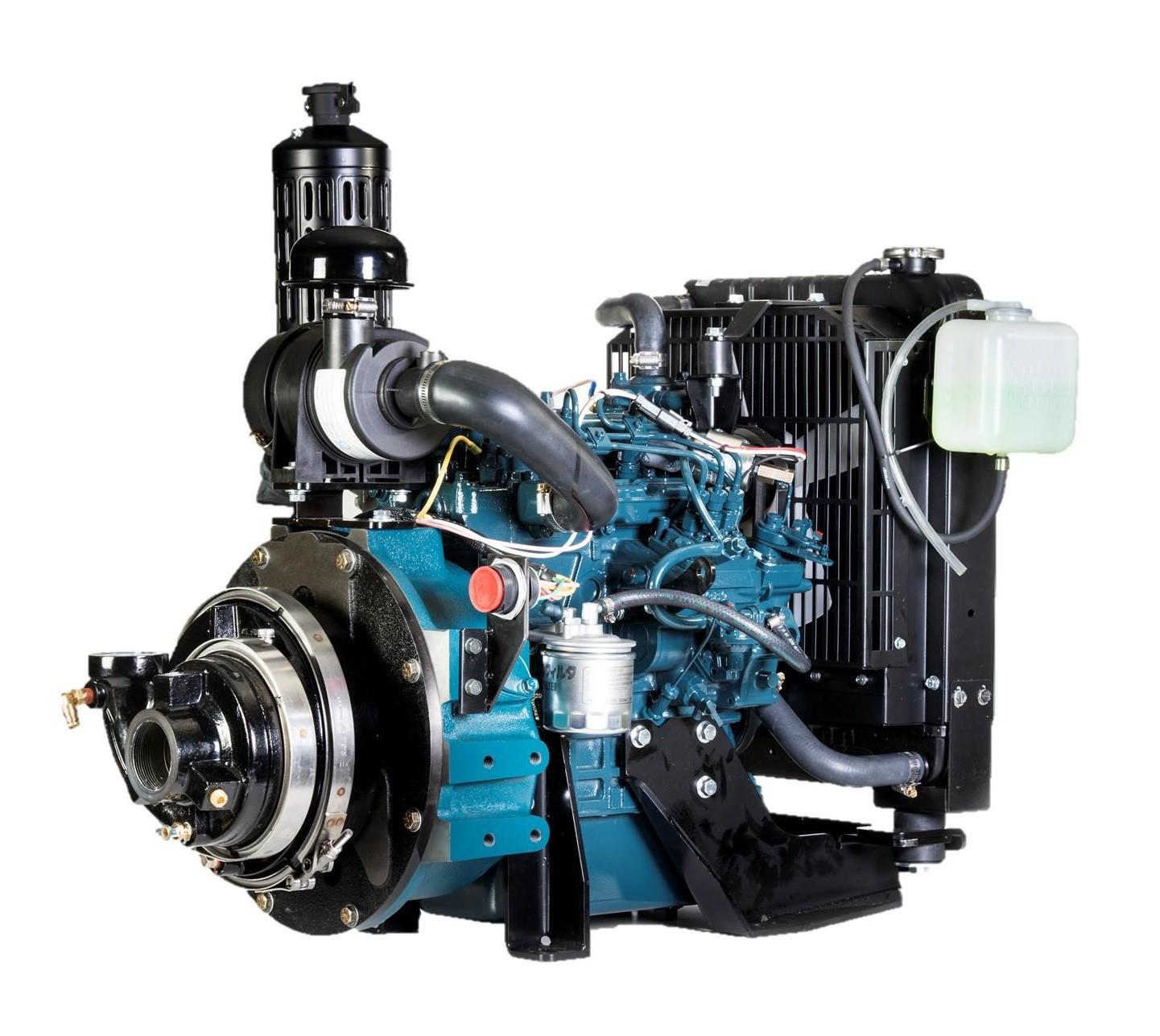 Powerflow Hpx75-kbd24 High-volume Engine-driven Water Pump
