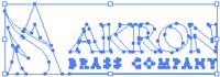AB logo horiz white